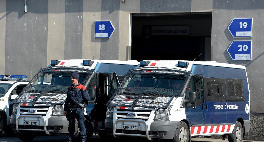 Coches de los Mossos d'Esquadra, la Policía autonómica catalana