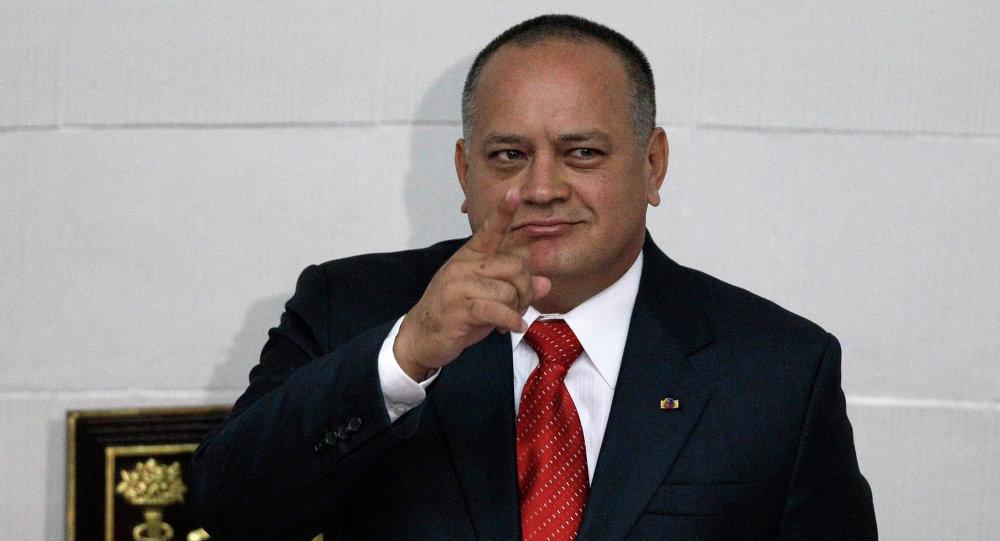 Diosdado Cabello, vicepresidente del gobernante PSUV