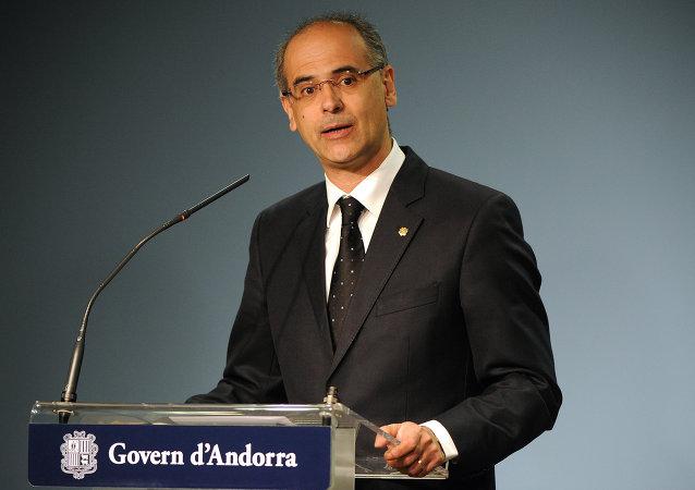 Antoni Martí, jefe del Gobierno de Andorra