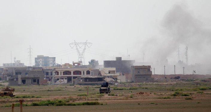 Situación en la ciudad de Tikrit