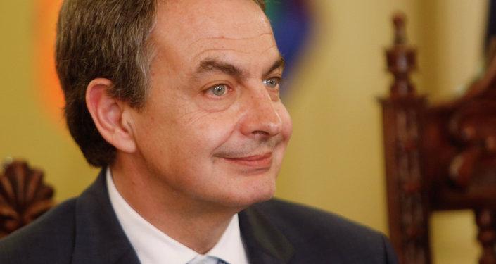 El expresidente del Gobierno de España José Luis Rodríguez Zapatero (archivo)