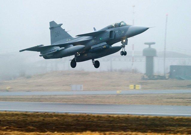 JAS 39 Gripen de la Fuerza Aérea sueca