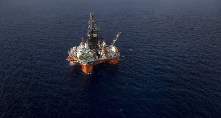 Platforma petrolífera en México