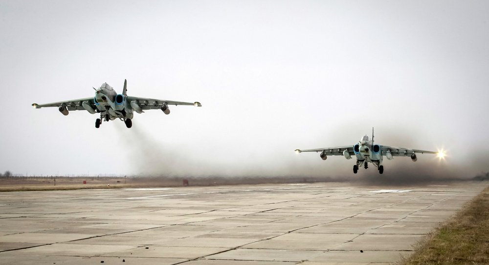 Cazas Su-25
