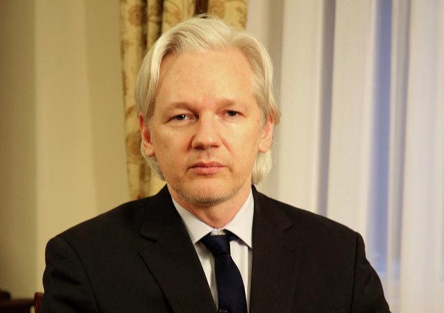 Julian Assange (archivo)