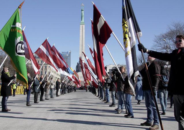 Conmemoración a voluntarios nazis en Letonia