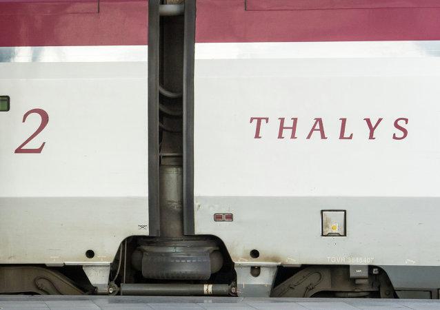 Un tren de Thalys