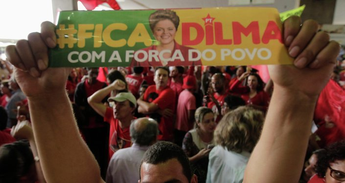 Más de 20.000 personas se manifiestan en Brasil contra el 'impeachment'
