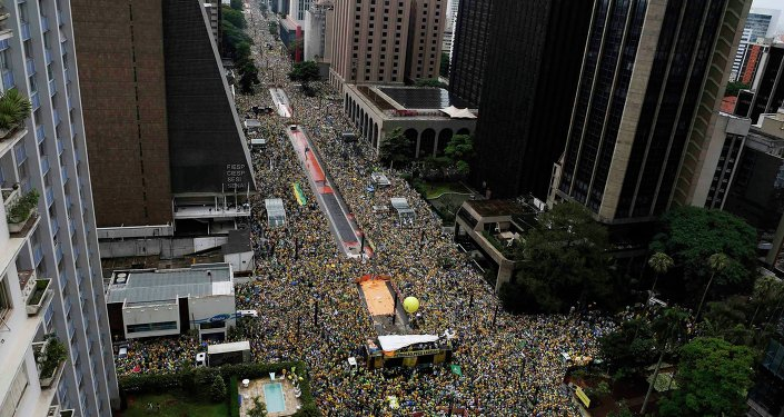 Resultado de imagen para Avenida Paulista. San Pablo. Brasil