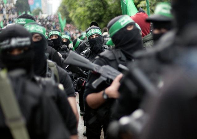 Miembros de Hamás