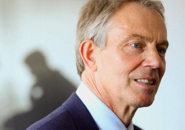 Tony Blair, exprimer ministro británico