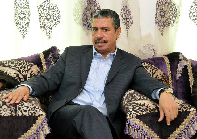 Khalid Bahah, primer ministro de Yemen