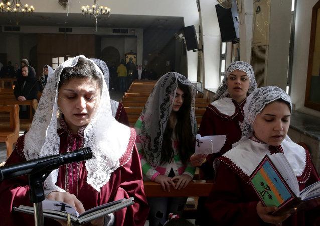 Mujeres asirias