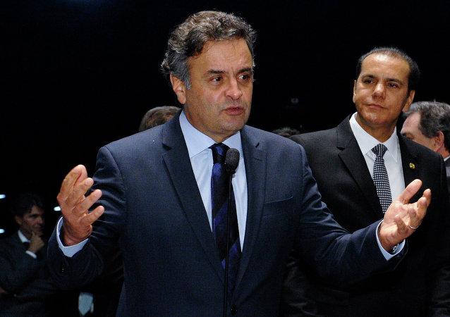 Aécio Neves, senador brasileño (archivo)