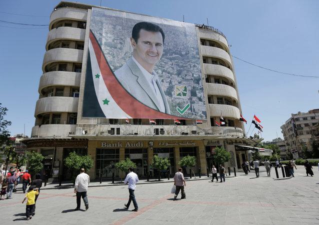 Imagen de Bashar Asad, presidente sirio