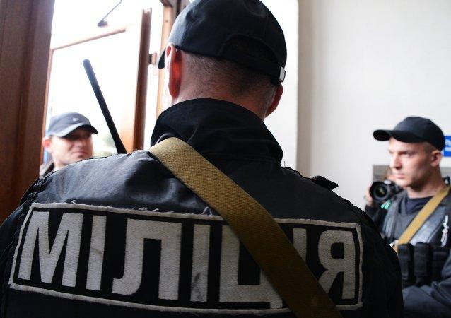 Policías ucranianos  (Archivo)