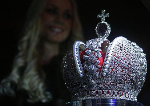 Copia de la Gran Corona Imperial de Rusia