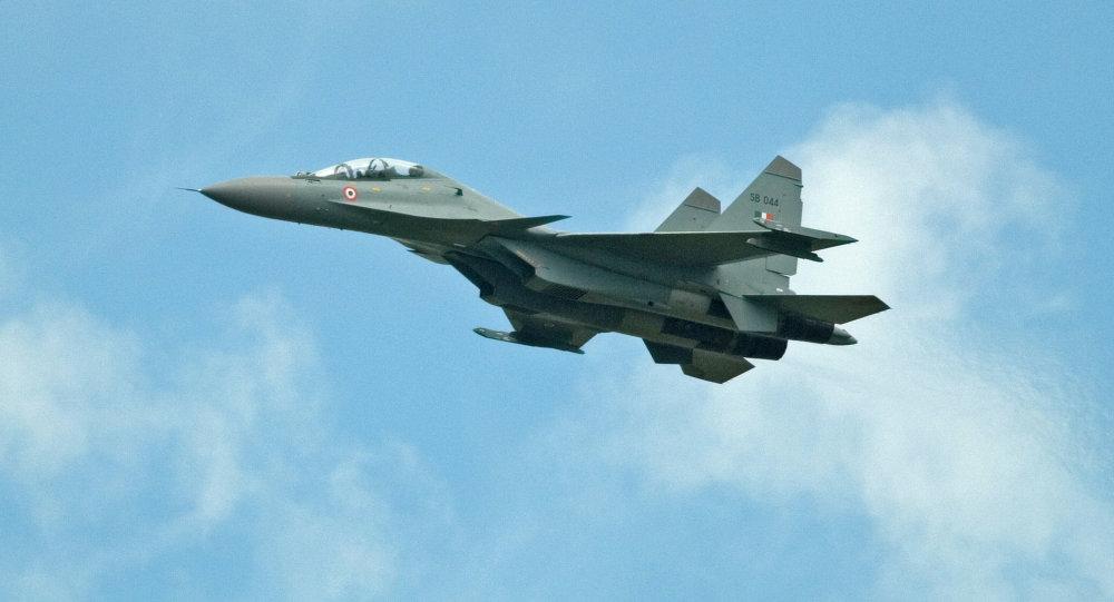 Caza Su-30MKI de la Fuerza Aérea de la India