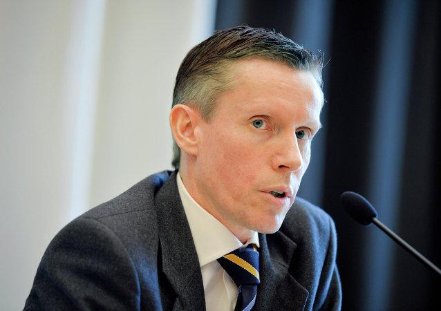 Wilhelm Unge, analista jefe de la Säpo, Servicio de Seguridad Sueco