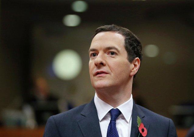 George Osborne, ministro de Finanzas de Reino Unido