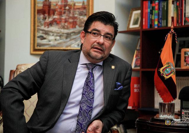 Patricio Chávez Zavala, embajador de la República de Ecuador ante la Federación de Rusia