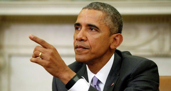 Presidente de EEUU Barack Obama habla sobre Irán