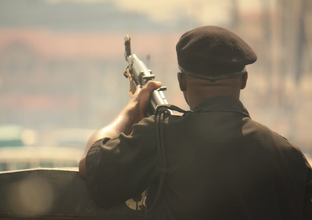 Soldado del ejército de Nigeria