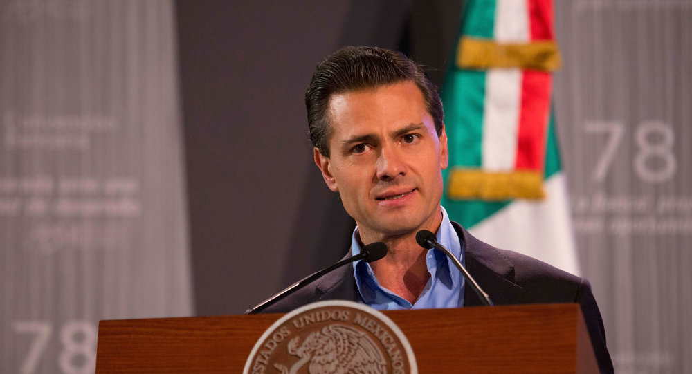 Enrique Peña, presidente de México