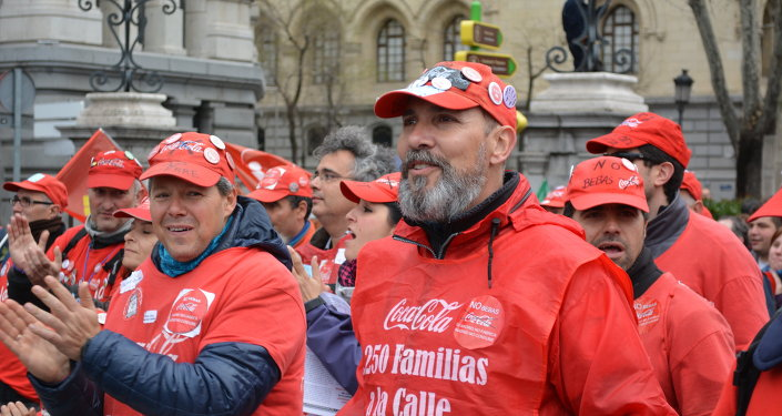 Empleados despedidos de Coca Cola
