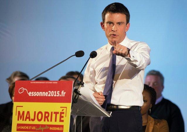 Manuel Valls, primer ministro de Francia