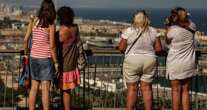 El turismo ruso en España sigue en descenso
