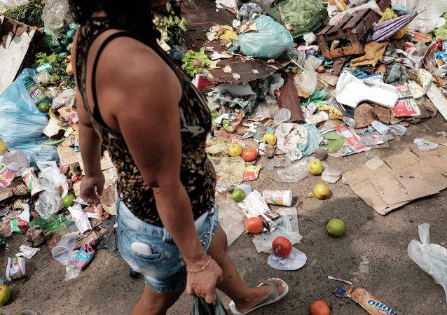 Las inundaciones y la huelga de trabajadores de la limpieza afectan a Río de Janeiro