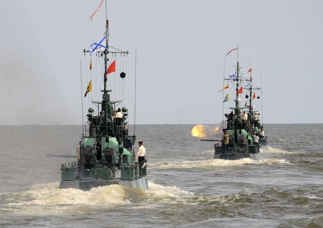 Buques de la Flotilla del Caspio