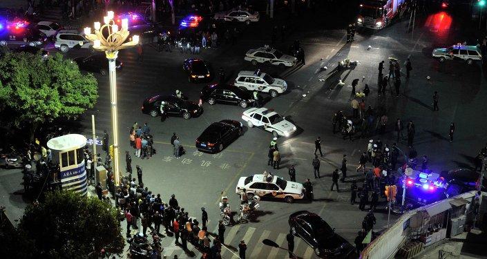 Ataque terrorista en la estación de Kunming