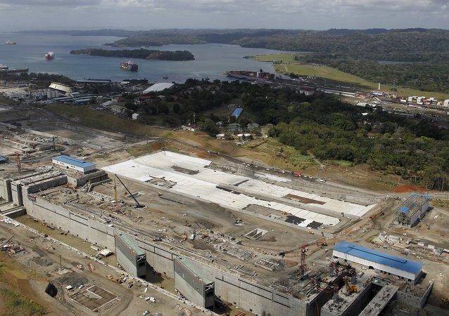Construcción del Nuevo Canal Interoceánico
