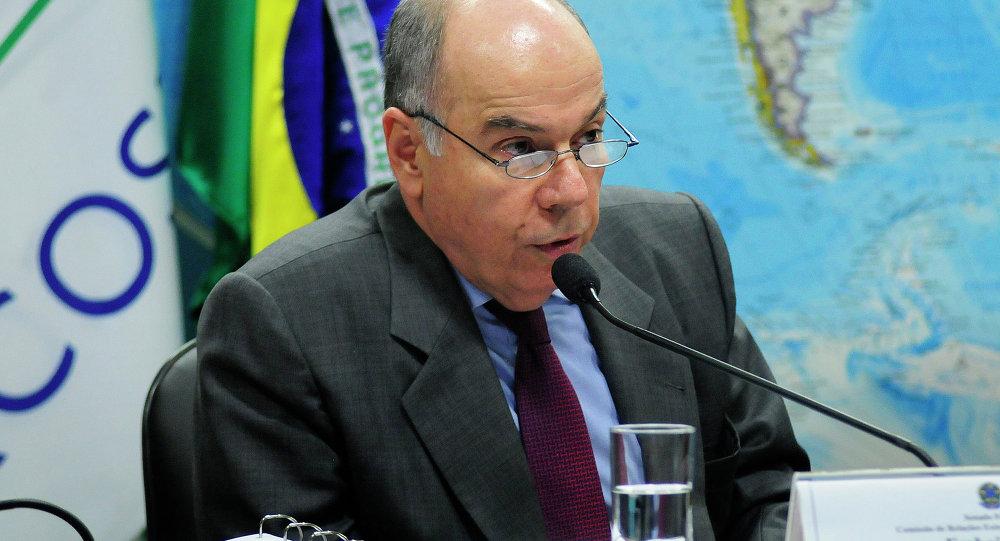 El ministro de Relaciones Exteriores de Brasil, Mauro Vieira