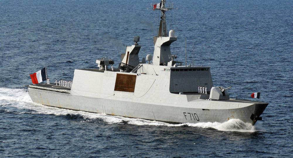 Fragata portamisiles clase La Fayette de la Armada francesa