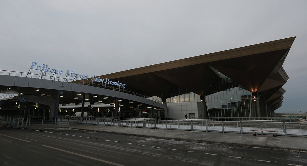 Aeropuerto Púlkovo de San Petersburgo