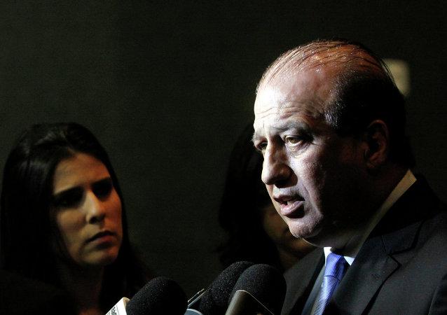 Augusto Nardes, fiscal del Tribunal de Cuentas de la Unión (TCU) de Brasil encargado de supervisar los gastos de dinero público en las obras de los Juegos Olímpicos de Río 2016
