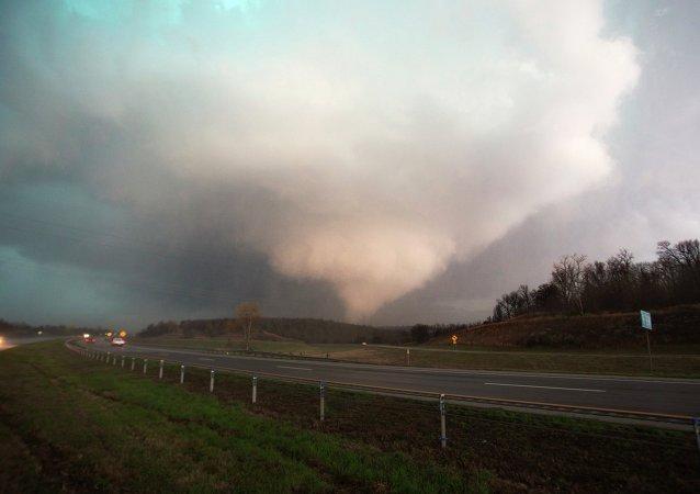 Tornado por Oklahoma, EEUU