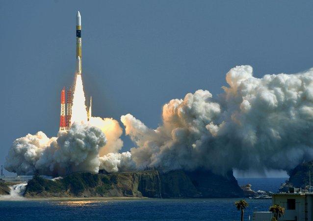 Lanzamiento del satélite espía Kogaku-5