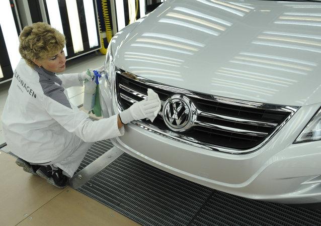La fábrica de Volkswagen en Kaluga