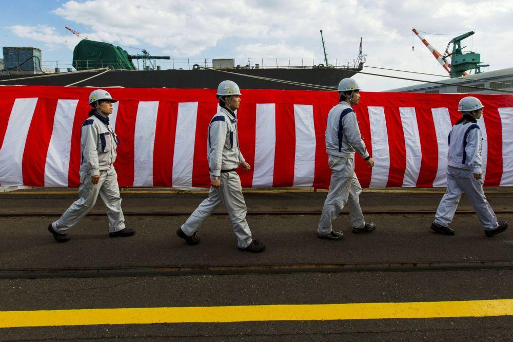 Portahelicópteros Izumo, el gigante de la Armada japonesa