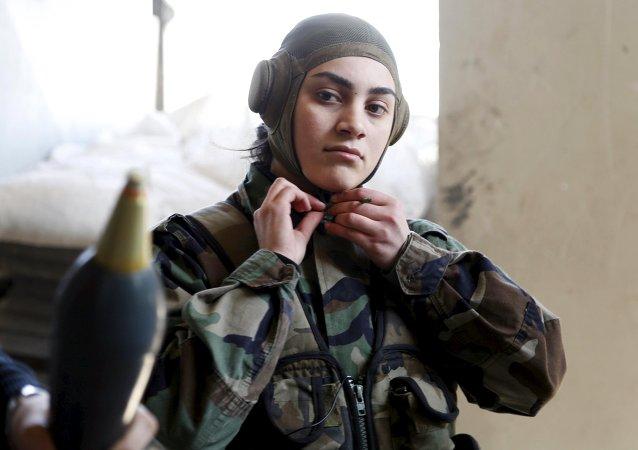 Las guerreras de Asad