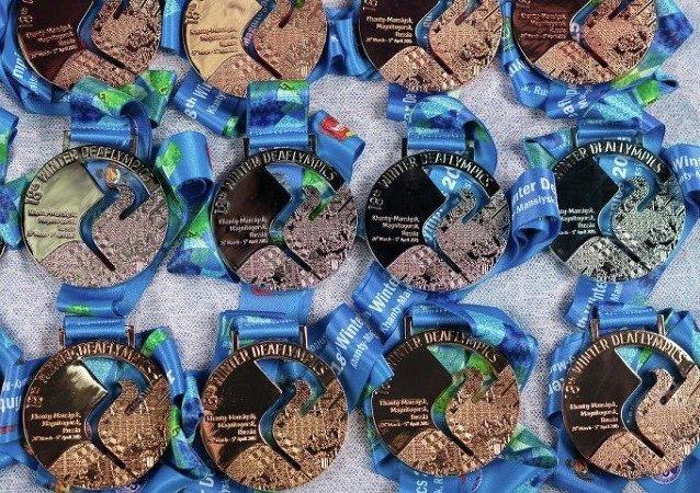 Medallas de los Juegos Olímpicos para sordos 2015