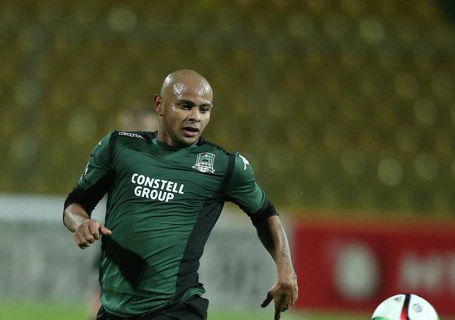 Ari, futbolista brasileño que juega como delantero y actualmente milita en el FC Krasnodar de la Liga Premier de Rusia