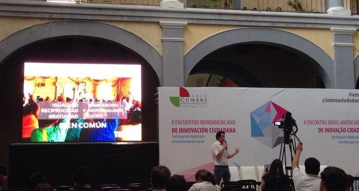 México firma convenio contra la pobreza con organización Techo en la Cumbre Iberoamericana
