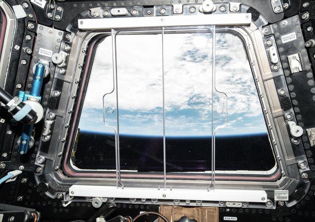 Vista de Tierra desde la cúpula de EEI