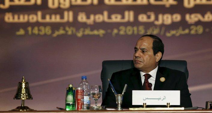 Abdel Fattah Sisi, presidente de Egipto (archivo)