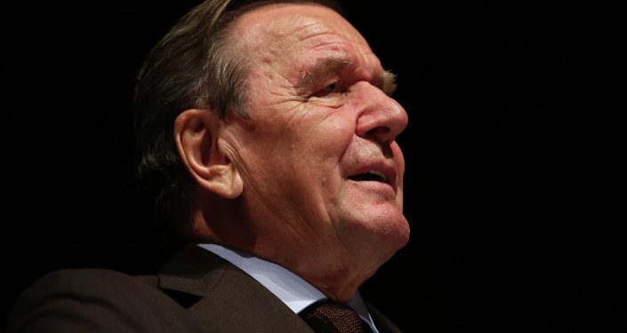 Gerhard Schröder, el ex-canciller de Alemania